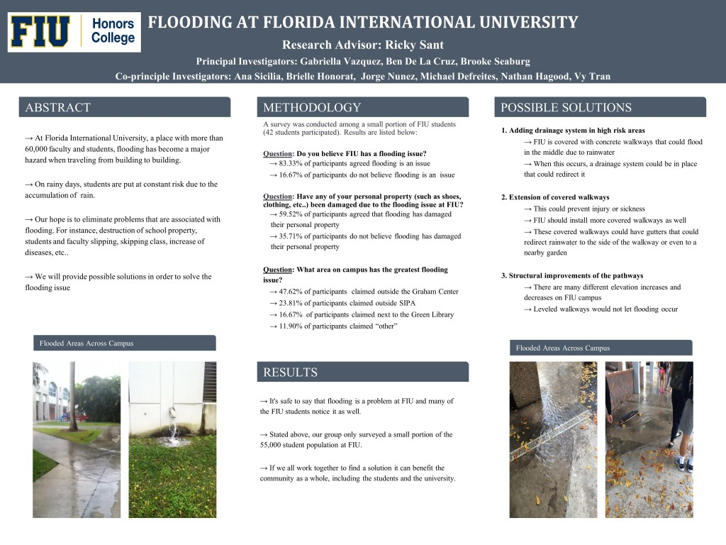 FLOODING POSTER PPT