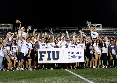 FIU Honors College Football Night! - Honors College