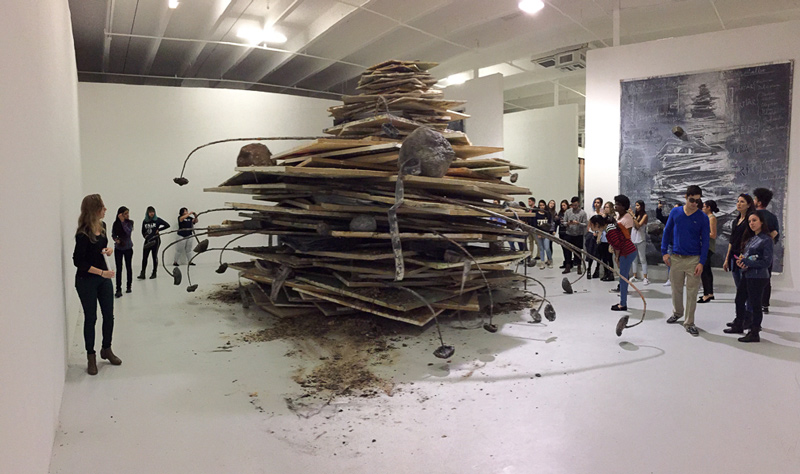 Poetic Palette at Margulies Warehouse - Honors College