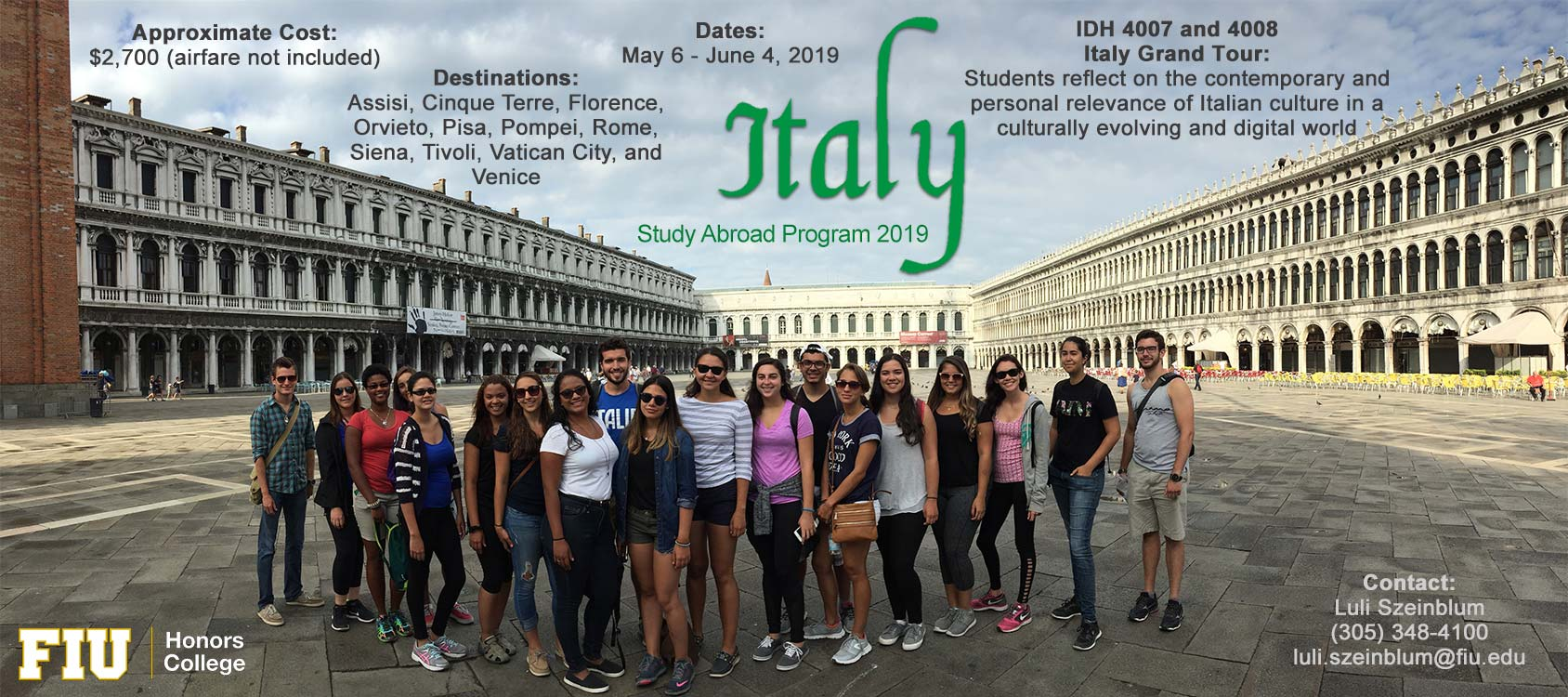 Italy - Honors College
