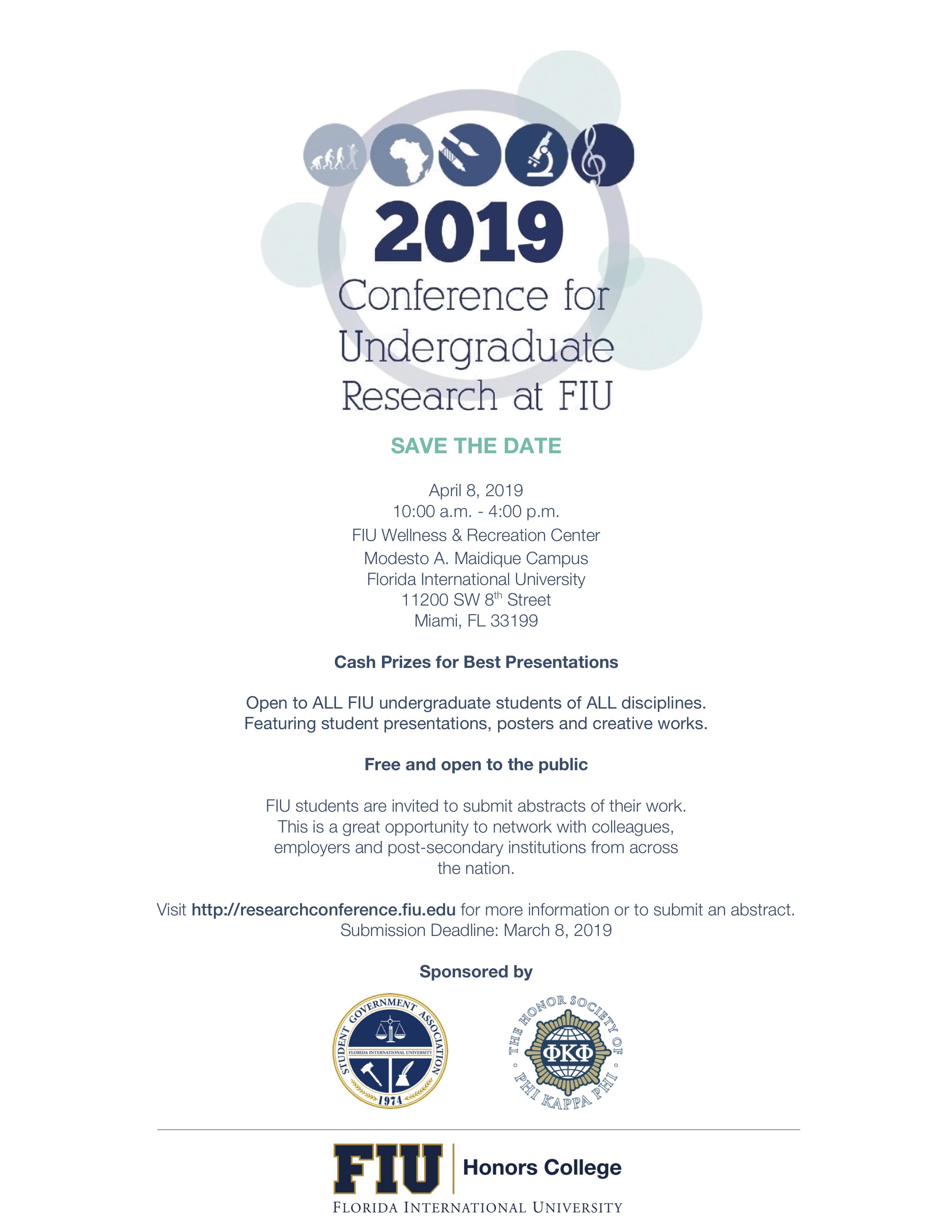CURFIU 2019 - Honors College