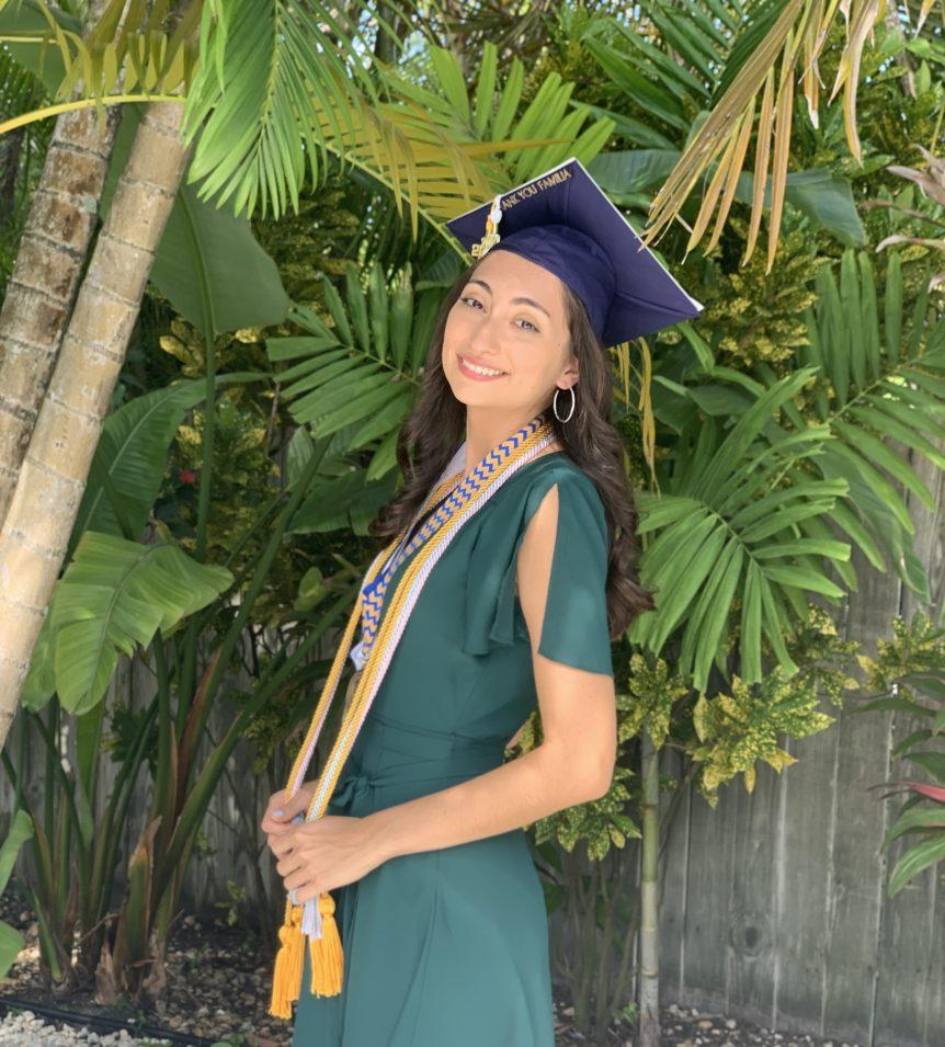 Gabriela Rodriguez graduation picture