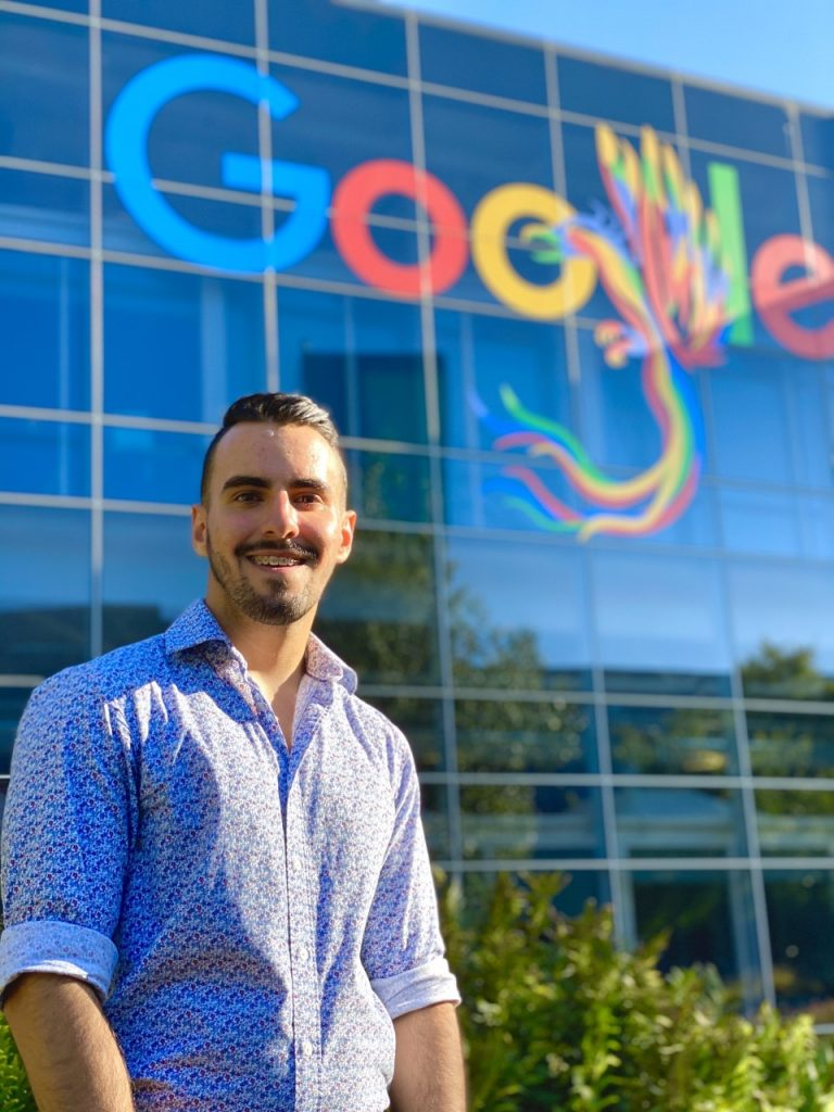 Brandon Bedoya- Google Intern