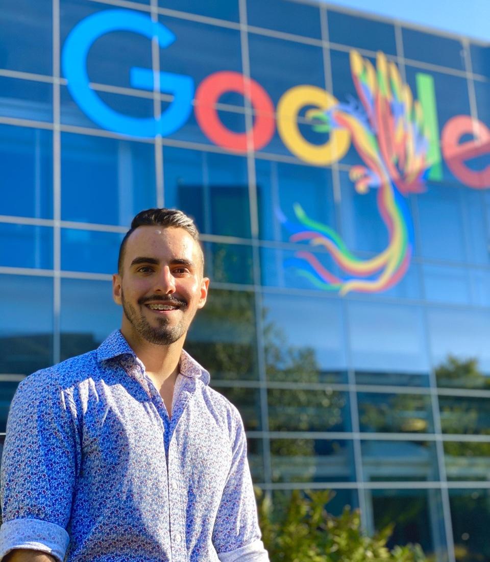 Branden Bedoya- Google Intern